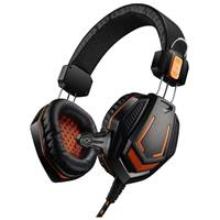 Гарнитура Canyon Gaming headset 3.5mm, USB (7XCNDSGHS3)Black/orange