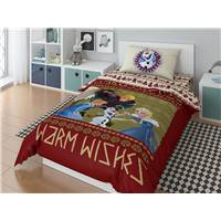 КПБ_Детское Disney (Поплин) (нав.50*70) 1551 20034+8378/1 ПН10 01, Olaf Warm wishies